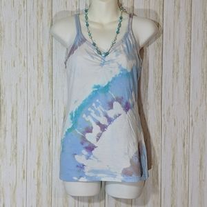 Hand tie dyed camisole top size L